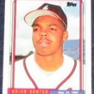 1992 Topps Debut Brian Hunter #86 Braves