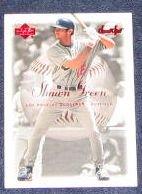 2001 UD Sweet Spot Shawn Green #42 Dodgers