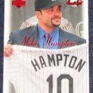 2001 UD Sweet Spot Mike Hampton #60 Rockies