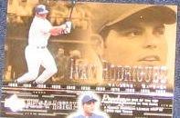 2002 UD POH Ivan Rodriguez #22 Rangers