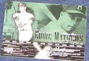 2002 UD POH Eddie Mathews #45 Braves