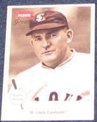2002 Fleer Greats of the Game Rogers Hornsby #23
