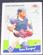 2002 Fleer Tradition Ivan Rodriguez #370 Rangers