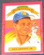 1990 Donruss Diamond Kings Ken Griffey Jr. #4 Mariners