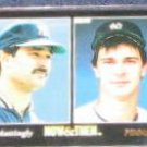 1993 Pinnacle Now & Then Don Mattingly #470 Yankees