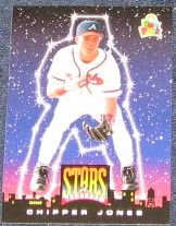 1994 UD Fun Pack Chipper Jones #5 Braves