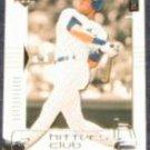 2000 UD Hitters Club Derek Jeter #49 Yankees