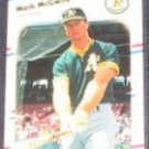 1988 Fleer Mark McGwire #286 Athletics