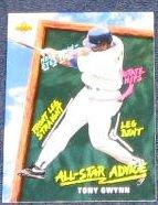 1993 Fun Pack All-Star Advice Tony Gwynn #211