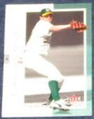 2001 Fleer Genuine Barry Zito #12 Athletics
