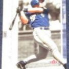 2001 Fleer Genuine Geoff Jenkins #17 Brewers