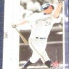 2001 Fleer Genuine Jeromy Burnitz #72 Brewers