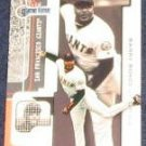 2001 Fleer Game Time Barry Bonds #5 Giants