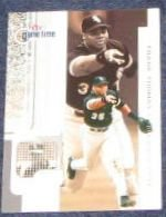 2001 Fleer Game Time Frank Thomas #66 White Sox