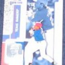 2001 Fleer Game Time Rafael Palmeiro #10 Rangers