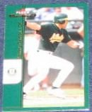 2002 Fleer Maximum Johnny Damon #69 Athletics