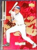 2000 UD Black Diamond Chipper Jones #47 Braves