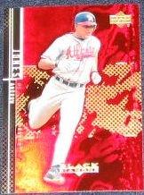 2000 UD Black Diamond Andruw Jones #49 Braves