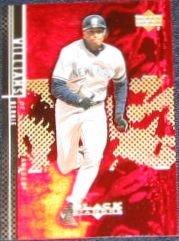 2000 UD Black Diamond Bernie Williams #41 Yankees