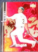 2000 UD Black Diamond Eric Chavez #7 Athletics