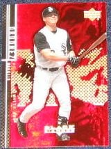 2000 UD Black Diamond Magglio Ordonez #35 White Sox