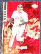 2000 UD Black Diamond Edgardo Alfonzo #73 Mets