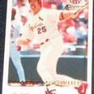 2001 Fleer Focus Mark McGwire #156 Cardinals