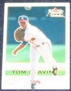 2001 Fleer Focus Tom Glavine #51 Braves