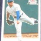 2001 Fleer Focus Johnny Damon #96 Royals