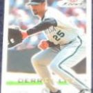 2001 Fleer Focus Derrek Lee #139 Marlins