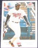 2001 Fleer Focus David Ortiz #128 Twins