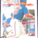 2001 Fleer Focus Raul Mondesi #19 Blue Jays