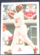 2001 Fleer Focus Ray Lankford #23 Cardinals