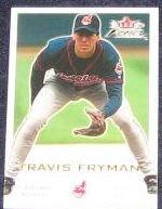 2001 Fleer Focus Travis Fryman #34 Indians