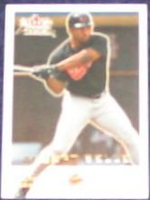2001 Fleer Focus Albert Belle #42 Orioles