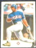 2001 Fleer Focus Ruben Matteo #98 Rangers