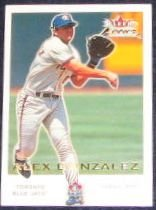 2001 Fleer Focus Alex Gonzalez #119 Blue Jays