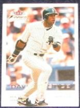 2001 Fleer Focus David Justice #112 Yankees