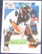 2001 Fleer Focus Jorge Posada #159 Yankees