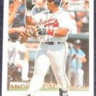 2001 Fleer Focus Andres Galarraga #168 Braves
