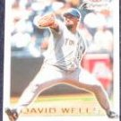 2001 Fleer Focus David Wells #166 Blue Jays