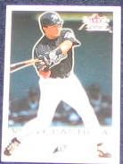 2001 Fleer Focus Vinny Castilla #161 Devil Rays