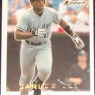 2001 Fleer Focus Carlos Lee #174 White Sox
