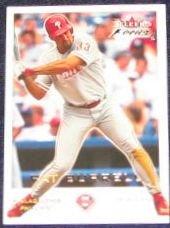2001 Fleer Focus Pat Burrell #189 Phillies