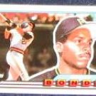 1989 Topps Big Barry Bonds #5 Pirates