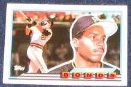 1989 Topps Big Barry Bonds #5 Pirates
