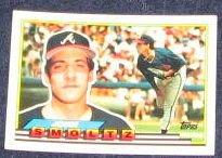 1989 Topps Big John Smoltz #260 Braves