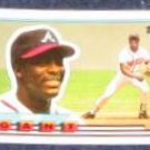 1989 Topps Big Ron Gant #43 Braves
