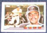 1989 Topps Big Jose Lind #25 Pirates