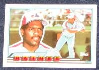1989 Topps Big Tim Raines #73 Expos